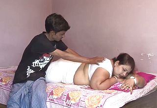 Super naughty Guy likes Spooning all natural melons of His ginormous Wife