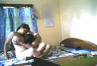 Just Found a homemade pornography Flick Of First timer Indian duo to jerk a Bit