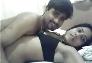Magnificent Indian teenage Stunner luvs Her Bf On the couch