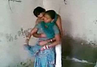 Subordinated Punjabi Freshly Wed Duo having Quickie