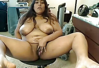 Ultra kinky Indian Fattie With Thick bosoms Milks On camera