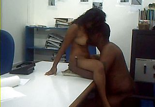 Chesty and new Indian Woman nailing Her manager on webcam
