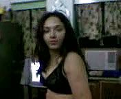 Frisky brown haired Indian Woman Unwraps Showcasing off Her killer Assets on web cam