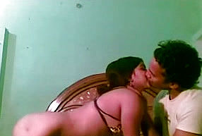 Horn-mad Unexperienced Indian duo are active With spooning each other