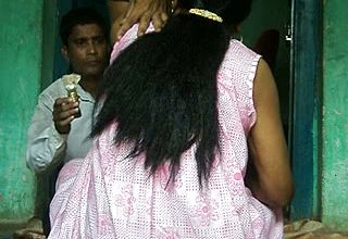 Damsels underarms hair Were meticulously Trimmed by Skillful barber