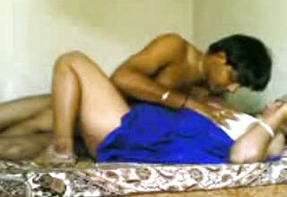 Dark flesh Indian cougar housewife Lets me Make a Pornography video