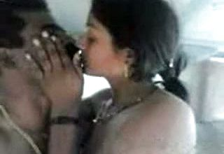 Indian sweetheart super bitch got Penetrated in Car by fet Wood