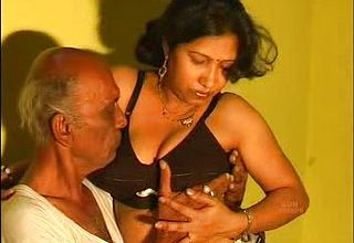 Elderly Dude getting Successful With His youthful and new Desi Wifey
