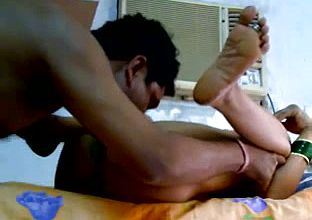 Fellow Munches and Frigs his Indian Housewife In Front of web cam
