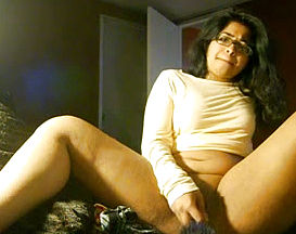 Stretching gams super hot Indian brown haired heads Solo With enthusiasm