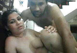 Buxom and Mature Insane housewife with Her youthful paramour