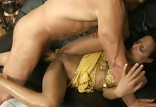Dissolute Indian nymphomaniac gets Aggressively pummeled in front of the camera