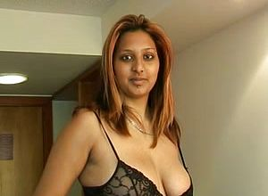 Indian Breezy Touches My hard on till it spews With Spunk On Her Bosoms