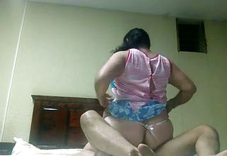 Servant and insatiable Indian bhabhi Rails pummel her spouse