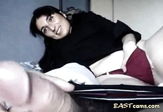 Indian MILF sucks and Fucks in POV