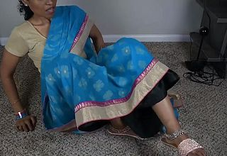 SOUTH INDIAN STEP MOTHER LETS HER SON JERK OFF TO HER IN FULL TAMIL RP 1080p Hornylily(1)